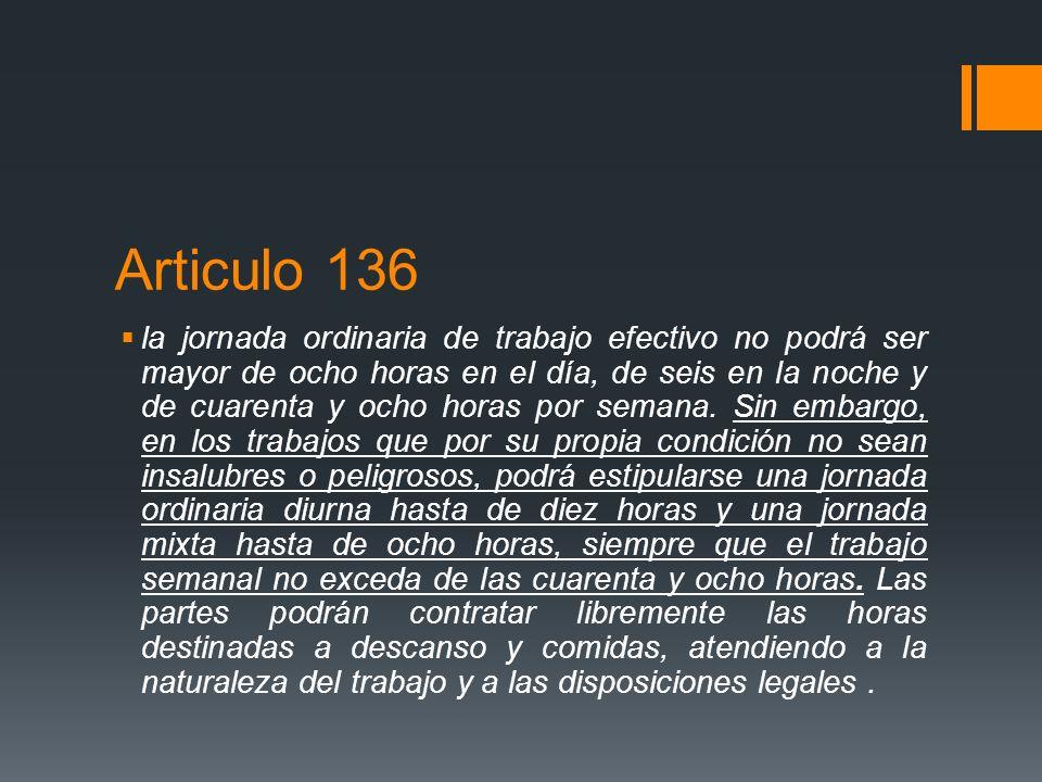 Articulo 136
