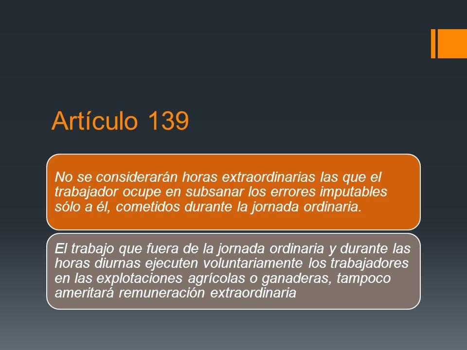 Artículo 139