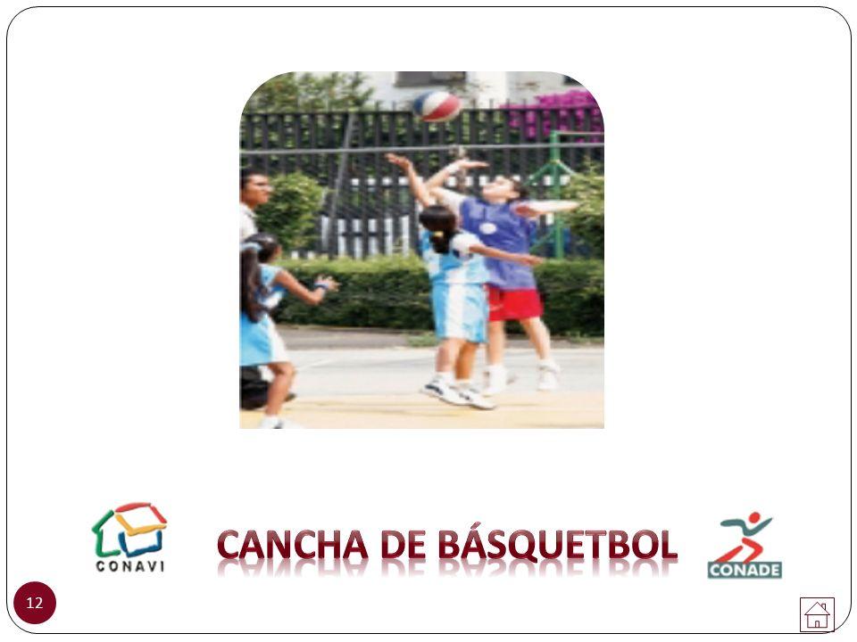 CANCHA DE básquetbol