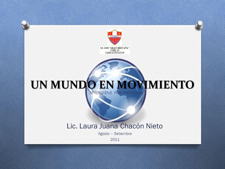 Lic. Laura Juana Chacón Nieto Agosto – Setiembre 2011