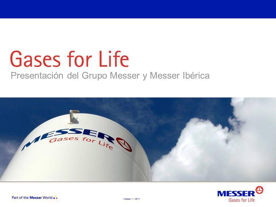 Presentación del Grupo Messer y Messer Ibérica