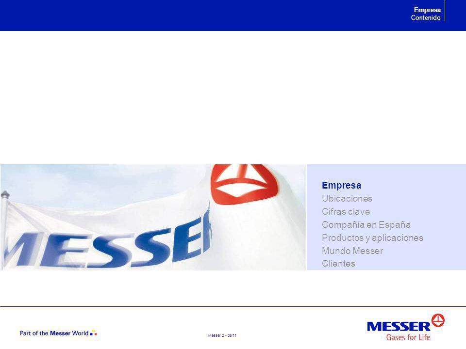 Productos y aplicaciones Mundo Messer Clientes