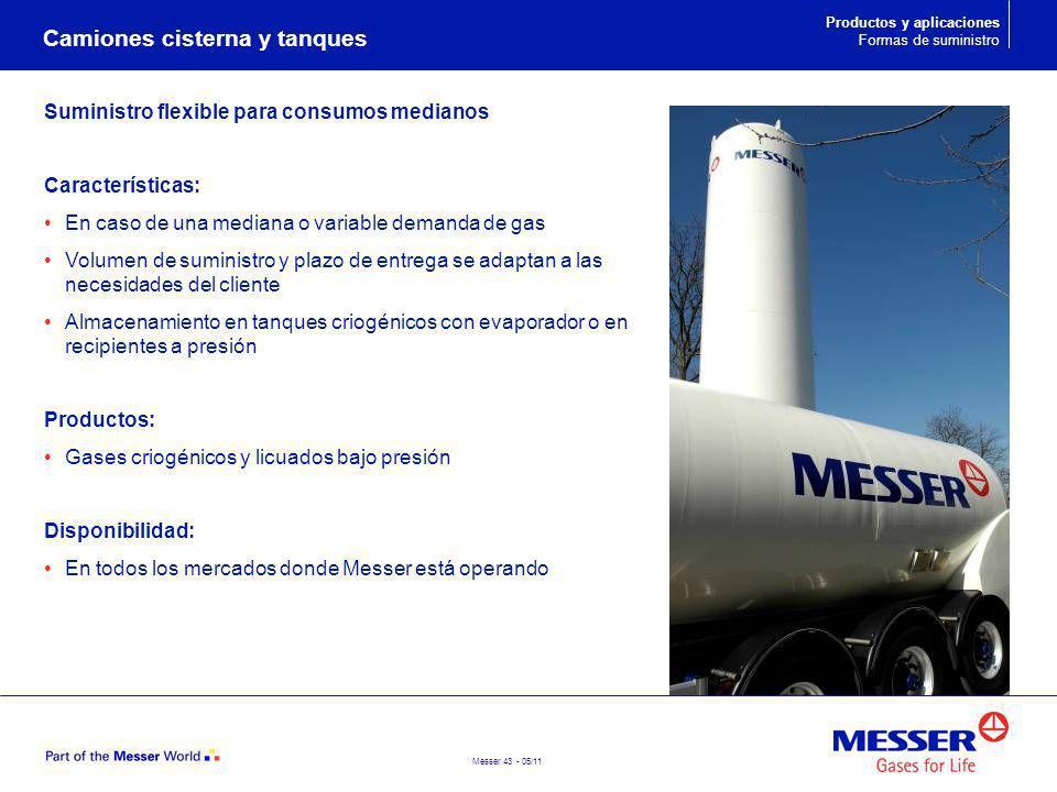 Camiones cisterna y tanques