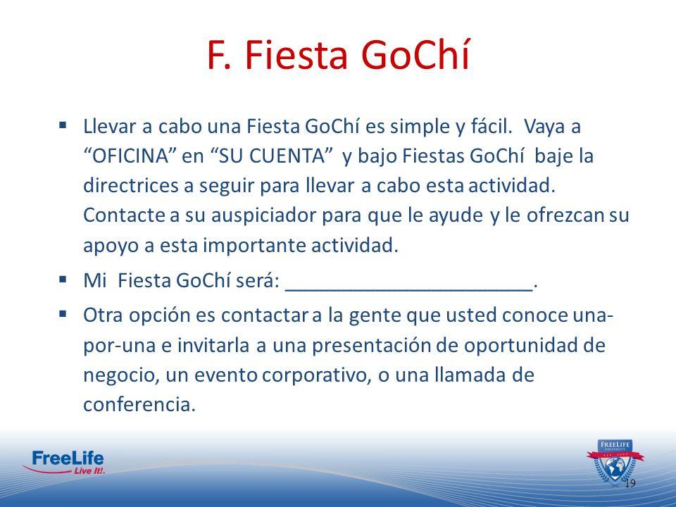 F. Fiesta GoChí