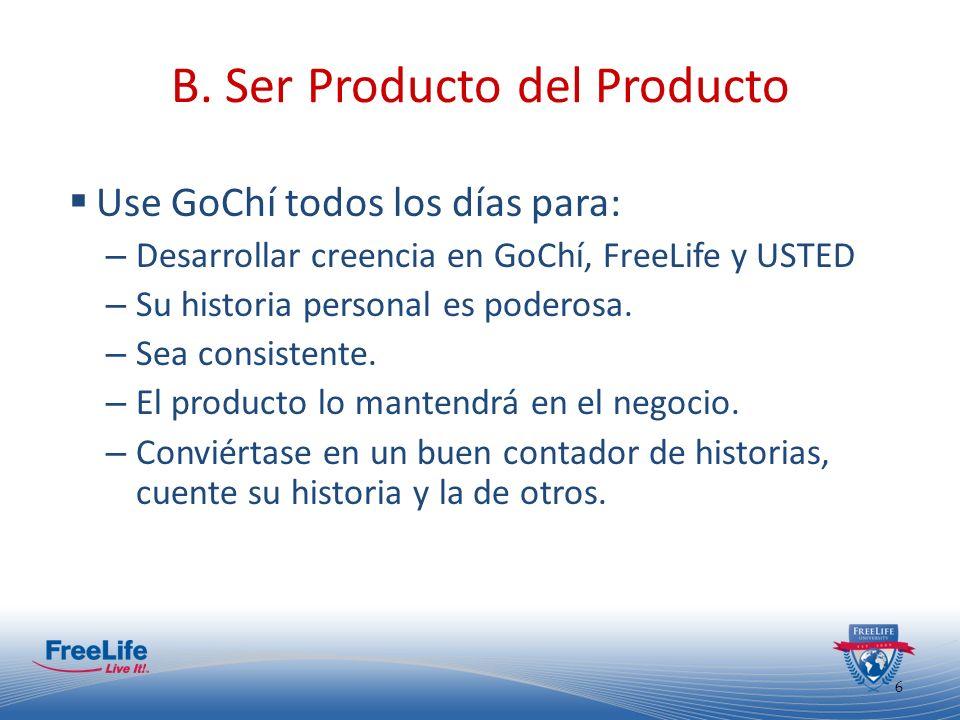 B. Ser Producto del Producto
