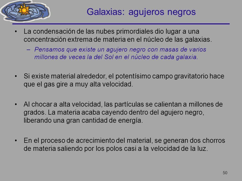 Galaxias: agujeros negros