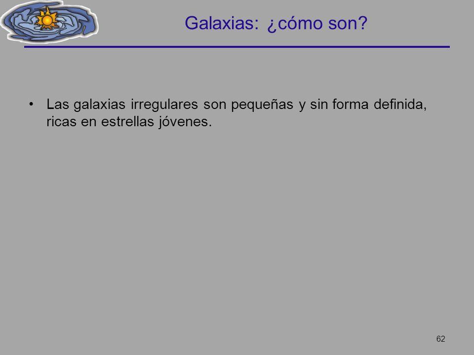 Galaxias: ¿cómo son.