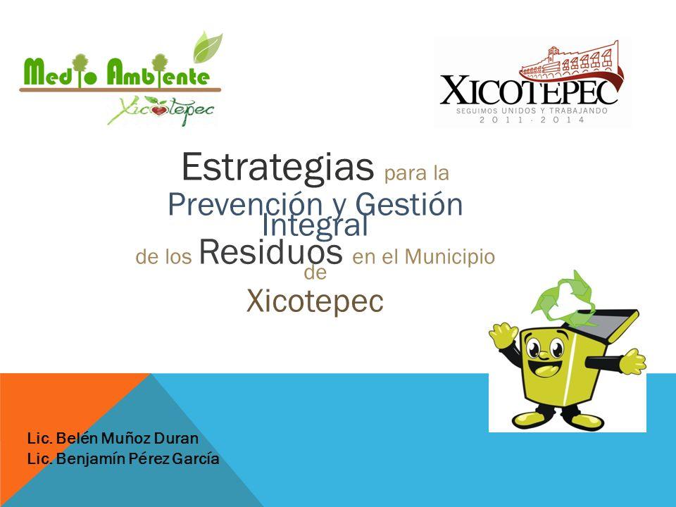 Estrategias para la Prevención y Gestión Integral Xicotepec