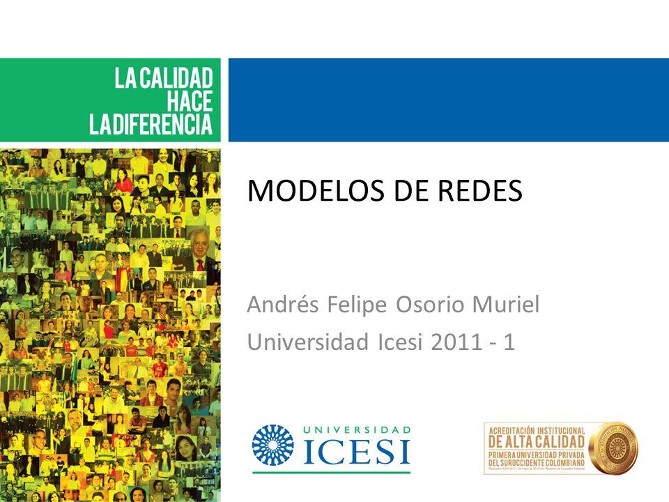 Andrés Felipe Osorio Muriel Universidad Icesi 2011 - 1