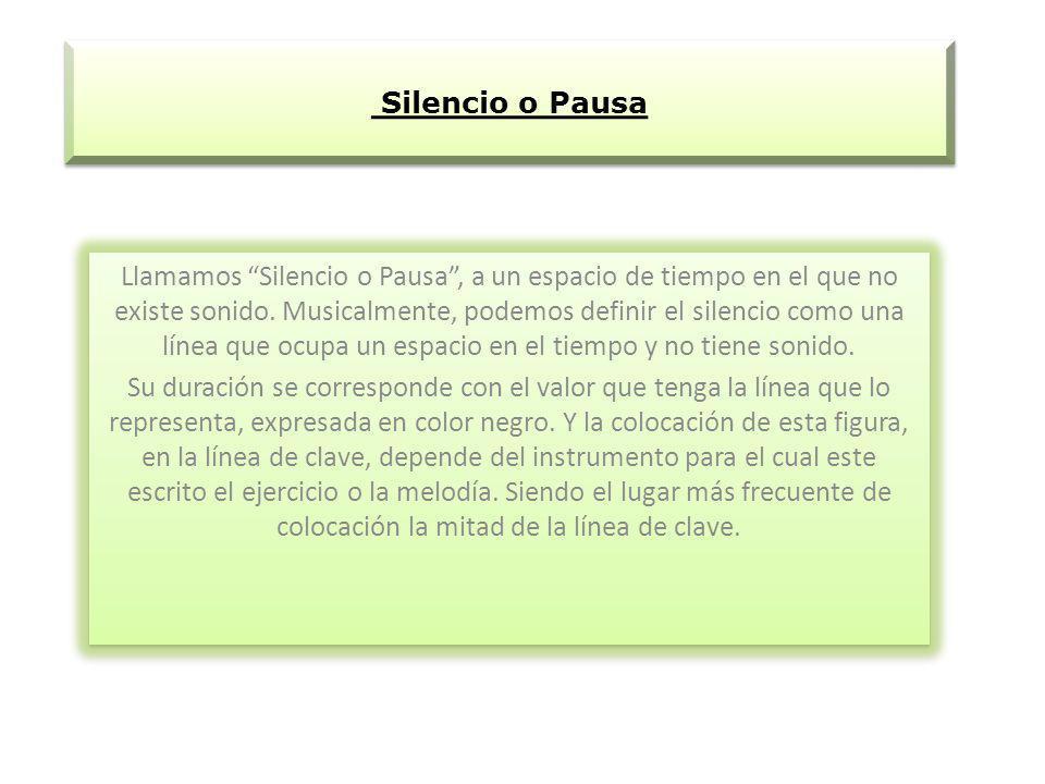 Silencio o Pausa