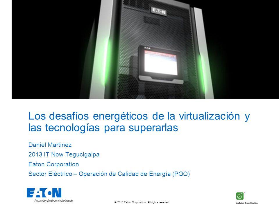 Los desafíos energéticos de la virtualización y las tecnologías para superarlas