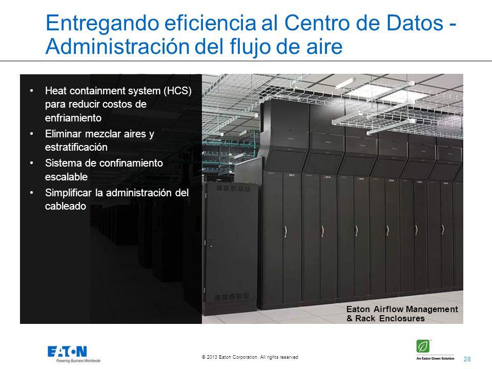 Entregando eficiencia al Centro de Datos - Administración del flujo de aire