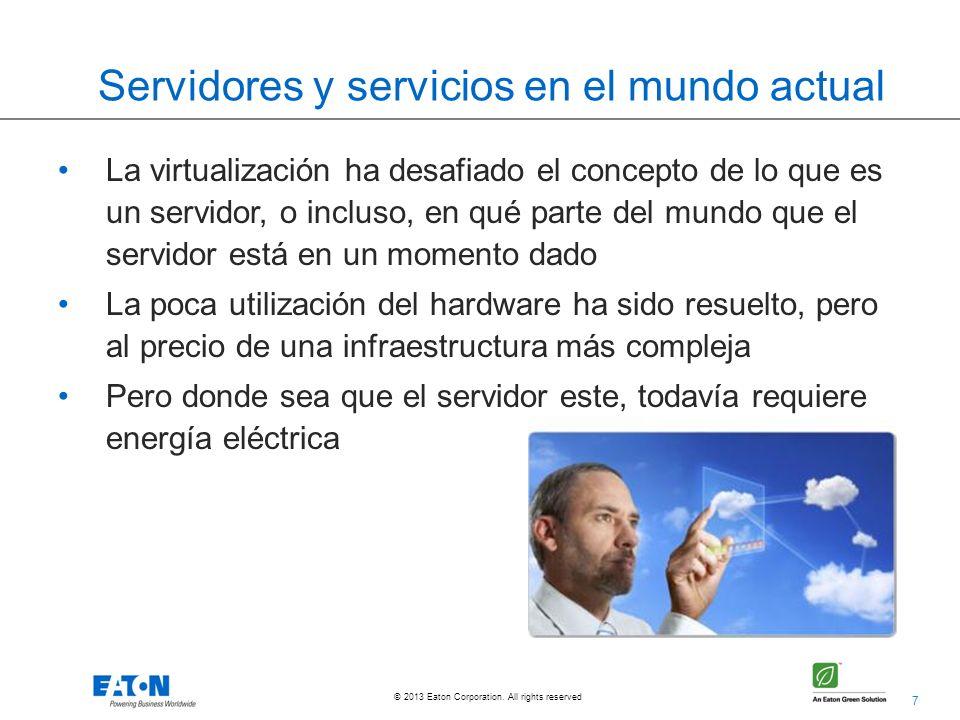 Servidores y servicios en el mundo actual