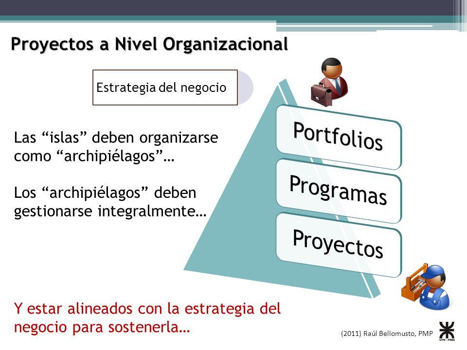 Portfolios Programas Proyectos Proyectos a Nivel Organizacional