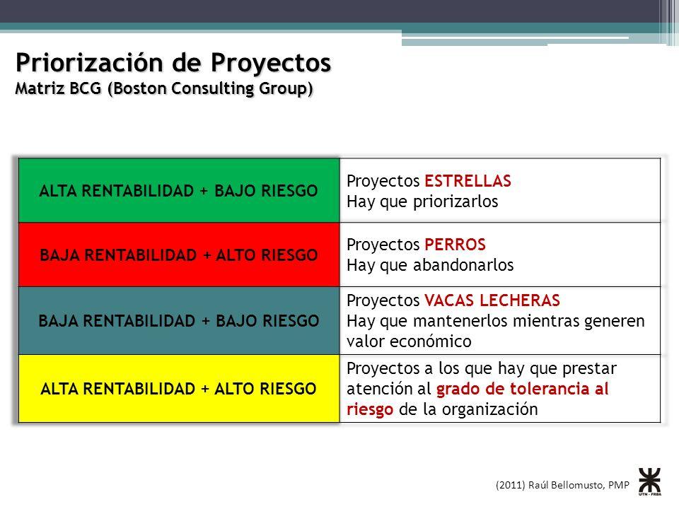 Priorización de Proyectos