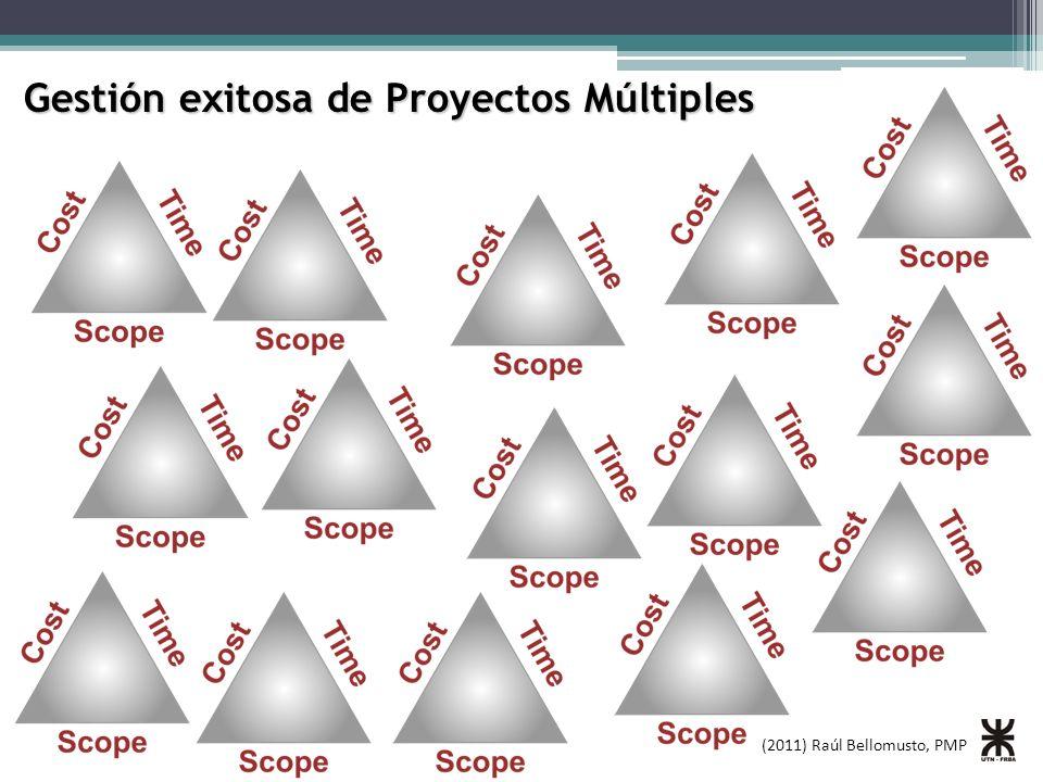Gestión exitosa de Proyectos Múltiples