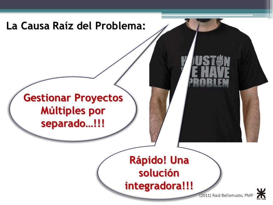 Gestionar Proyectos Múltiples por separado…!!!