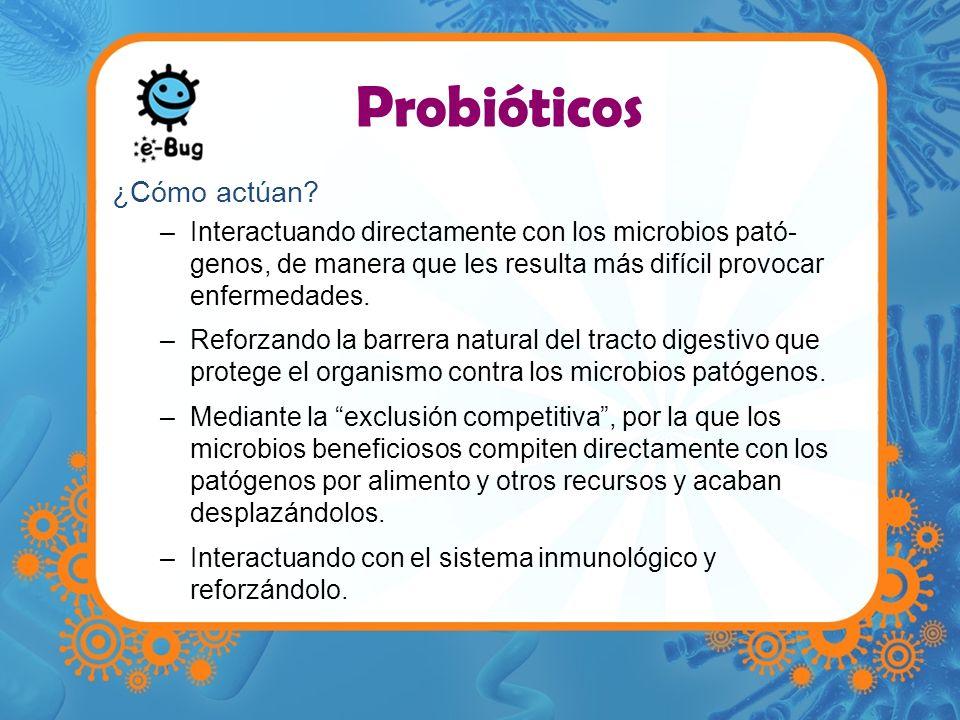 Probióticos ¿Cómo actúan