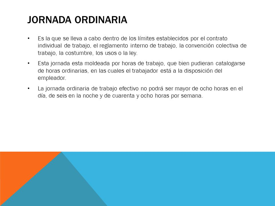 Jornada Ordinaria