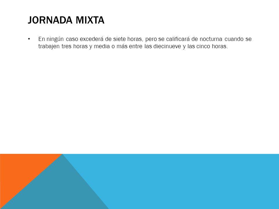 Jornada Mixta