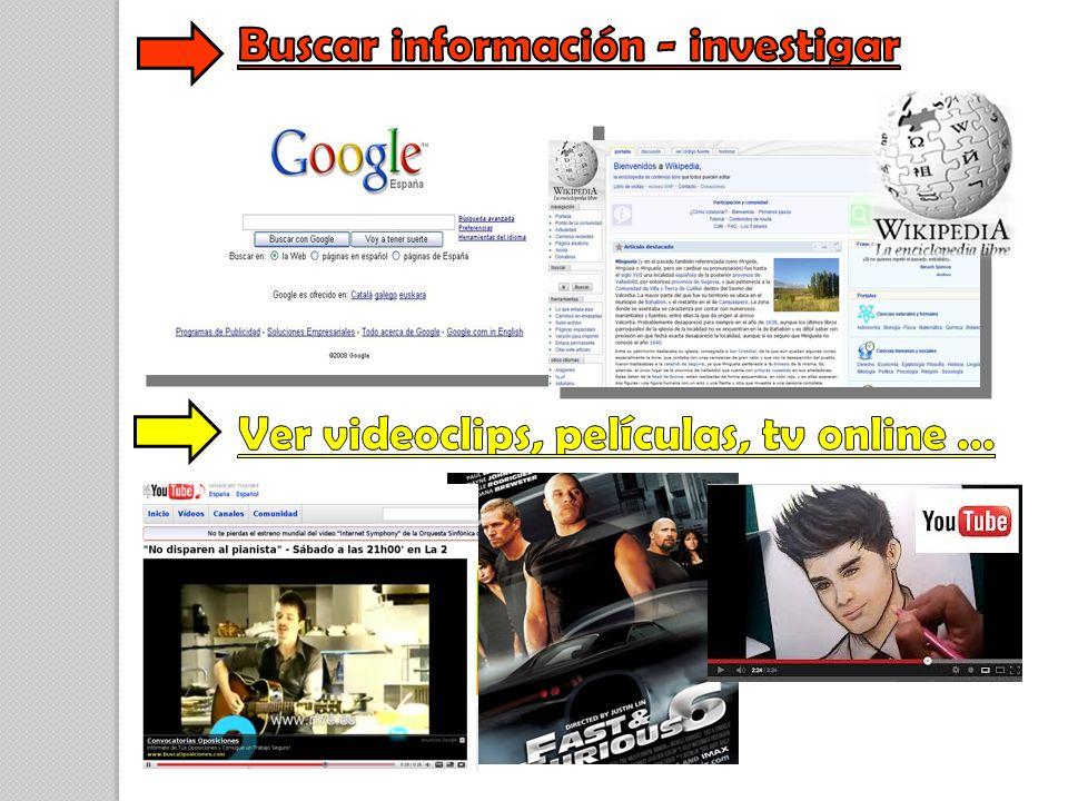Buscar información - investigar