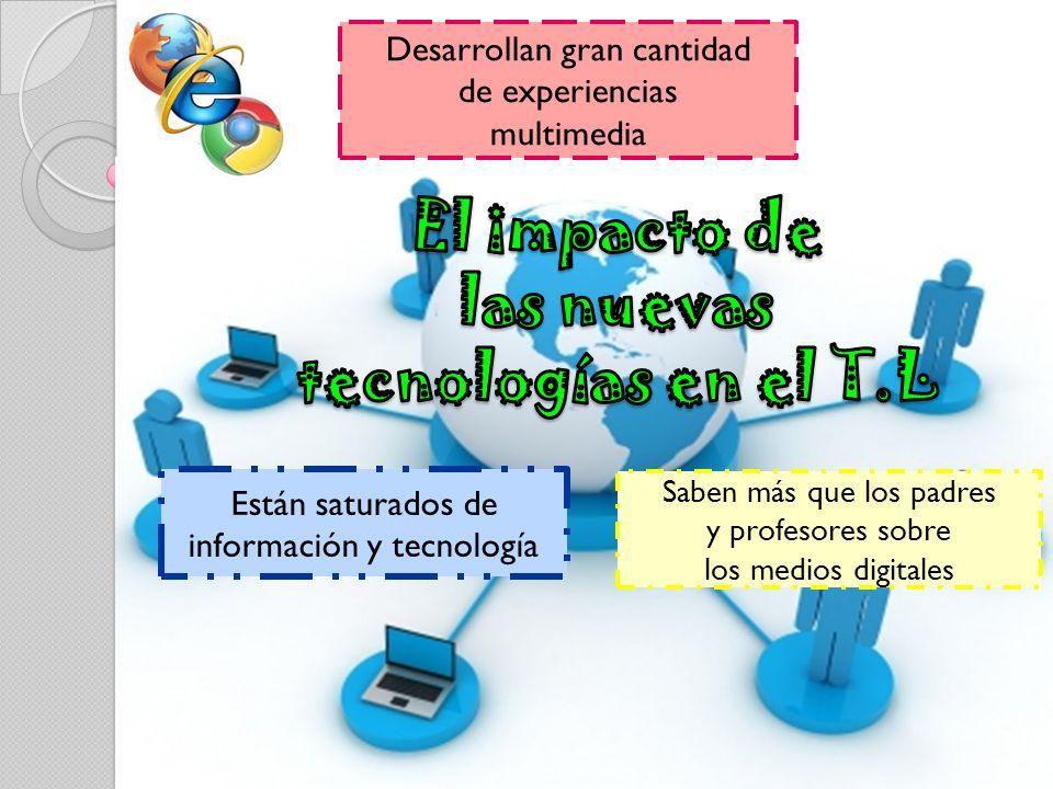 El impacto de las nuevas tecnologías en el T.L
