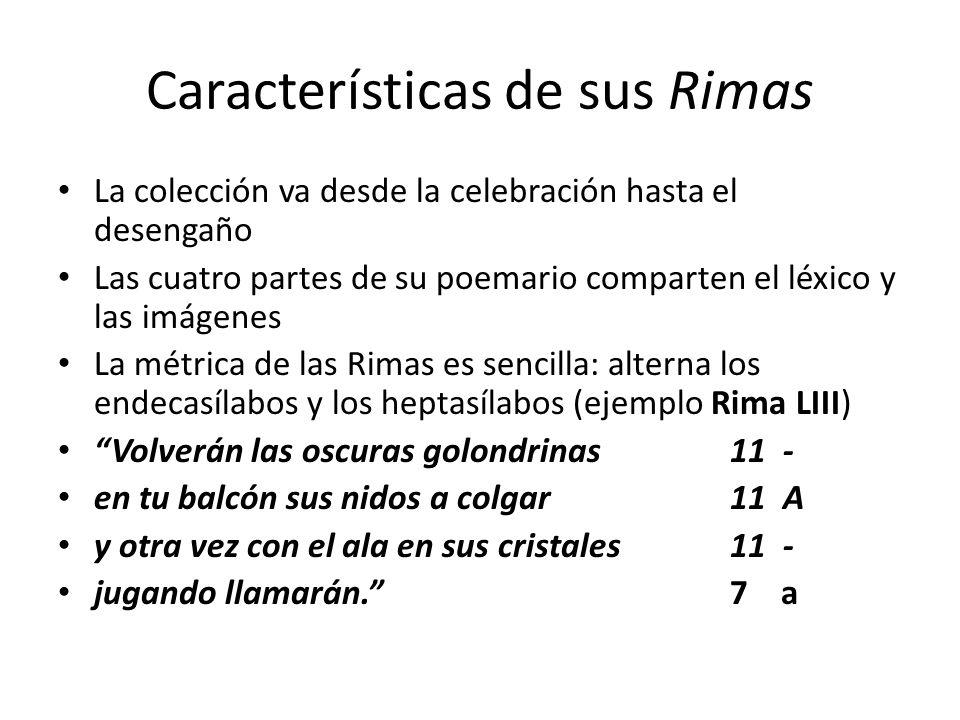 Características de sus Rimas