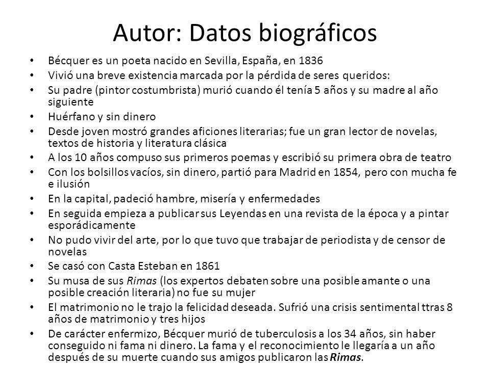 Autor: Datos biográficos