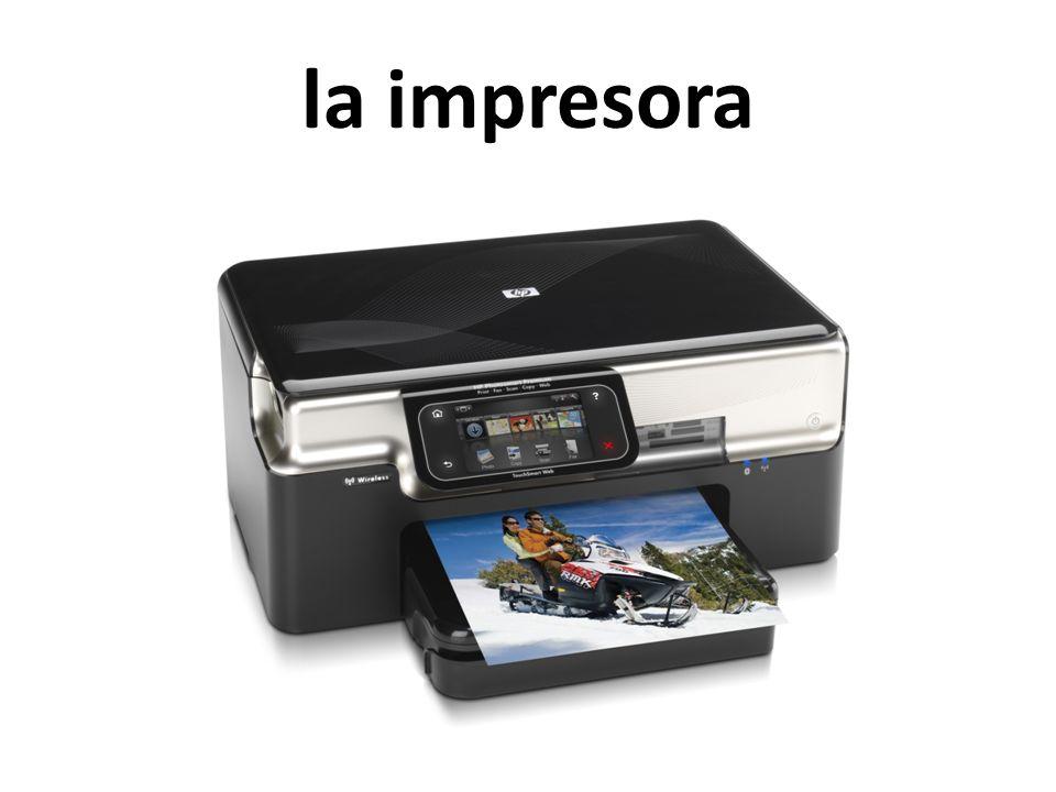 la impresora