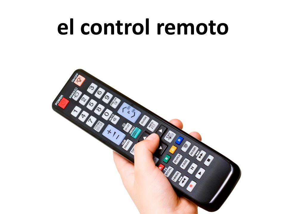 el control remoto