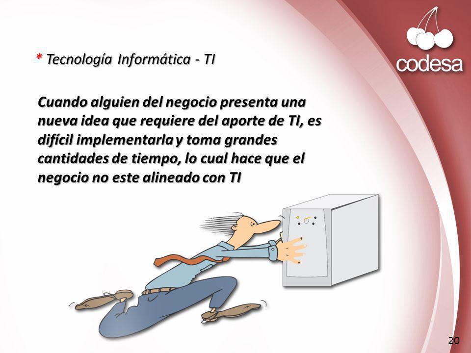 * Tecnología Informática - TI