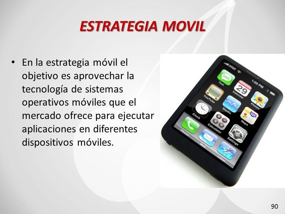 ESTRATEGIA MOVIL