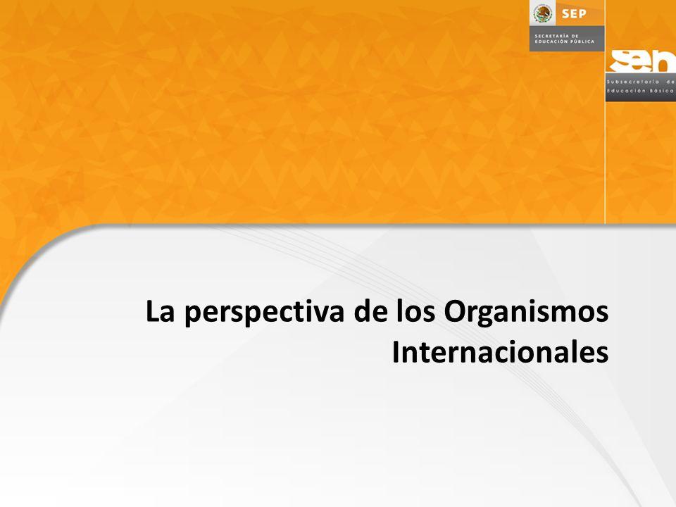 La perspectiva de los Organismos Internacionales