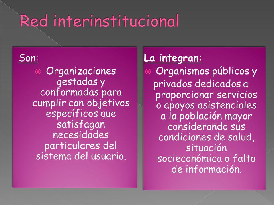 Red interinstitucional