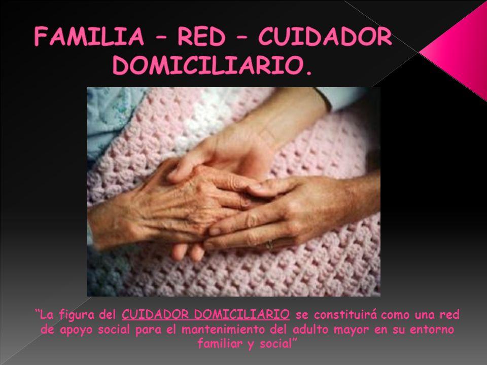 FAMILIA – RED – CUIDADOR DOMICILIARIO.