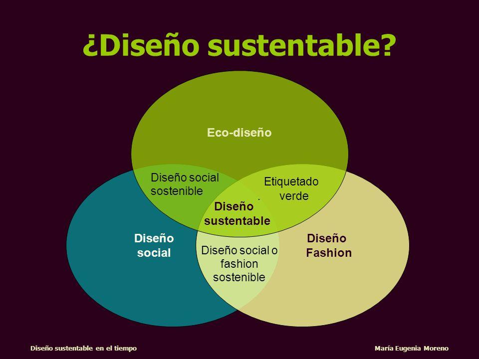 Diseño sustentable en el tiempo María Eugenia Moreno