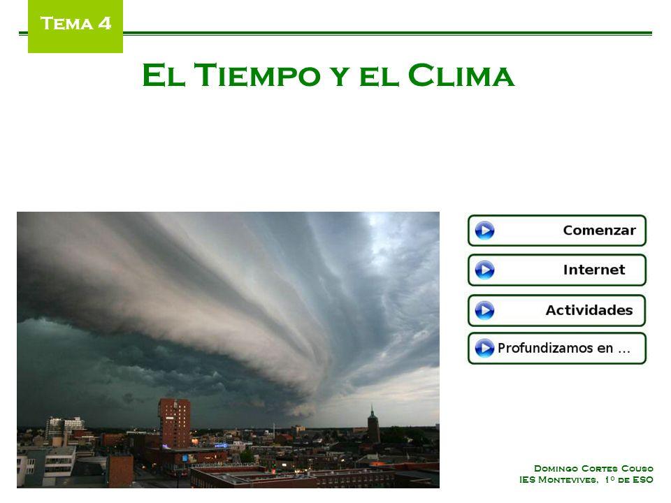El Tiempo y el Clima Tema 4 Domingo Cortes Couso