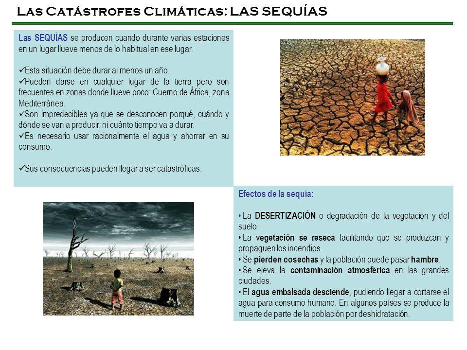 Las Catástrofes Climáticas: LAS SEQUÍAS