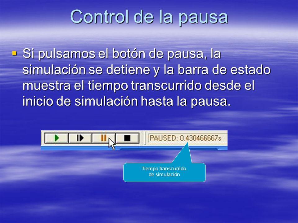 Control de la pausa