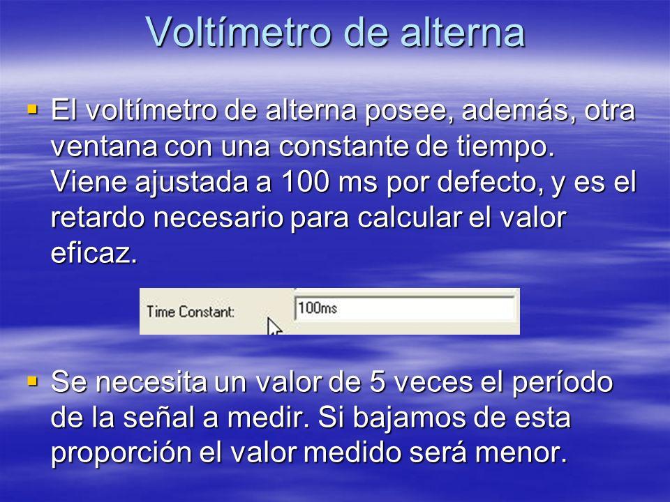 Voltímetro de alterna