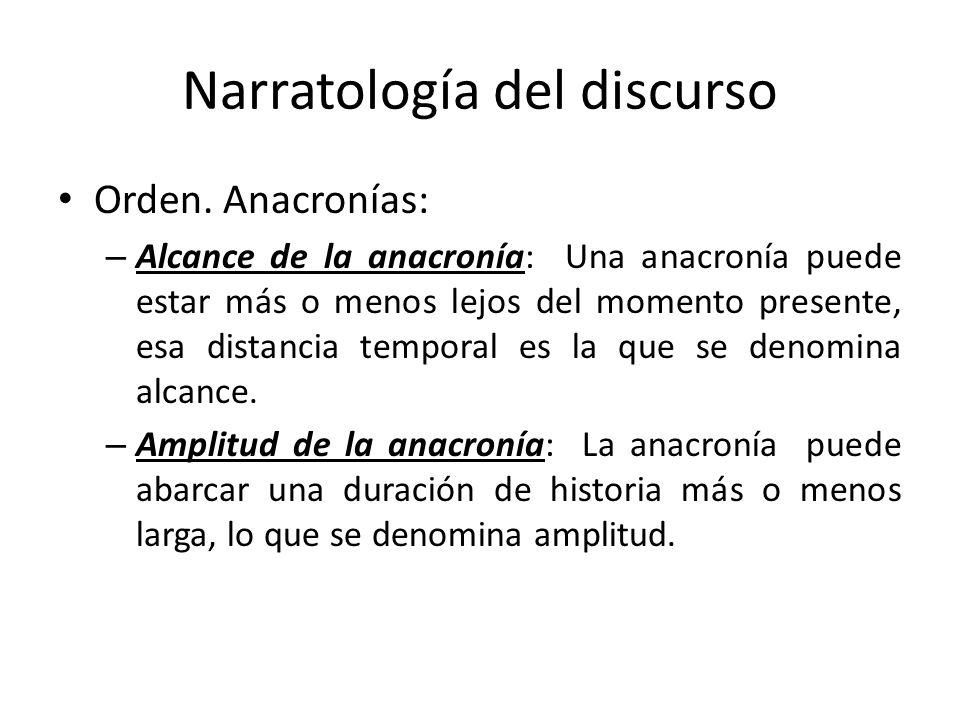 Narratología del discurso