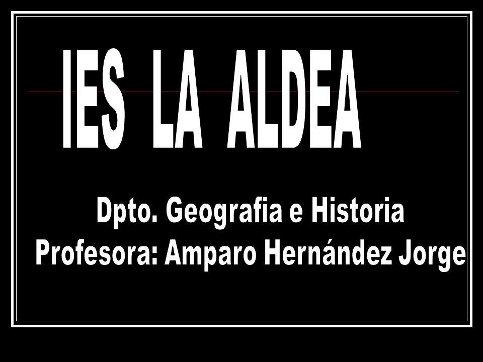 IES LA ALDEA Dpto. Geografia e Historia