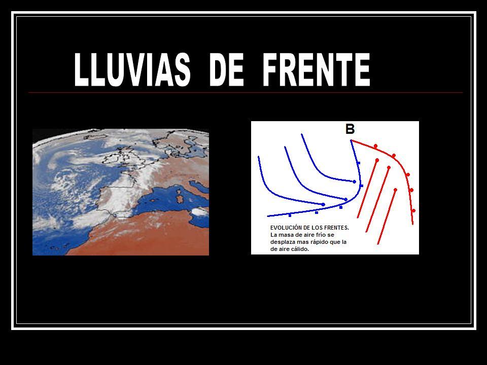 LLUVIAS DE FRENTE