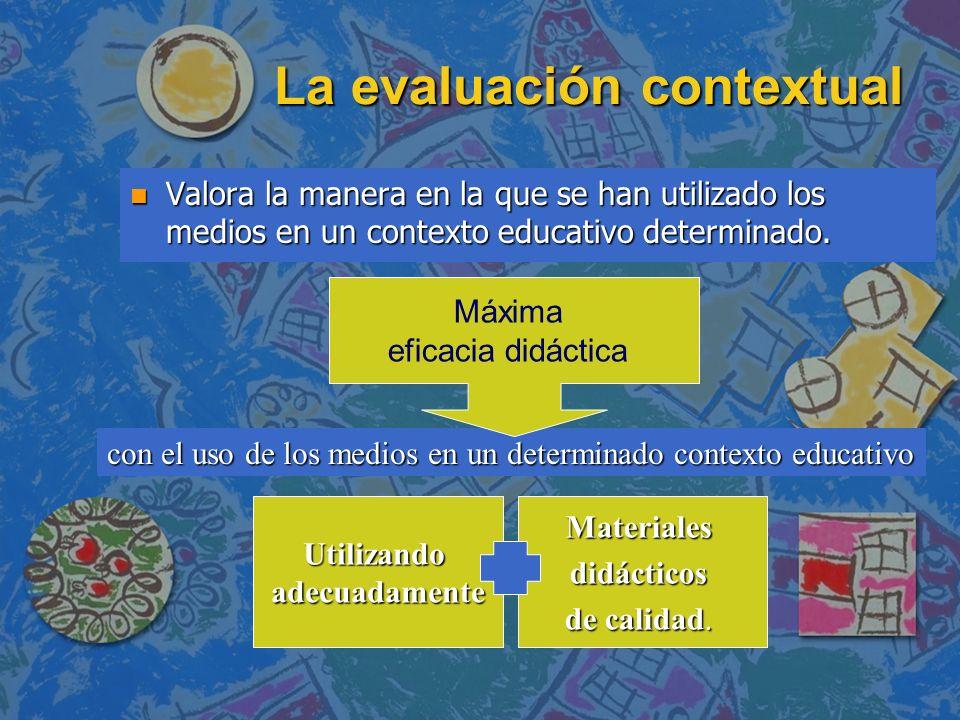 La evaluación contextual