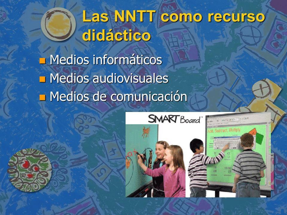 Las NNTT como recurso didáctico