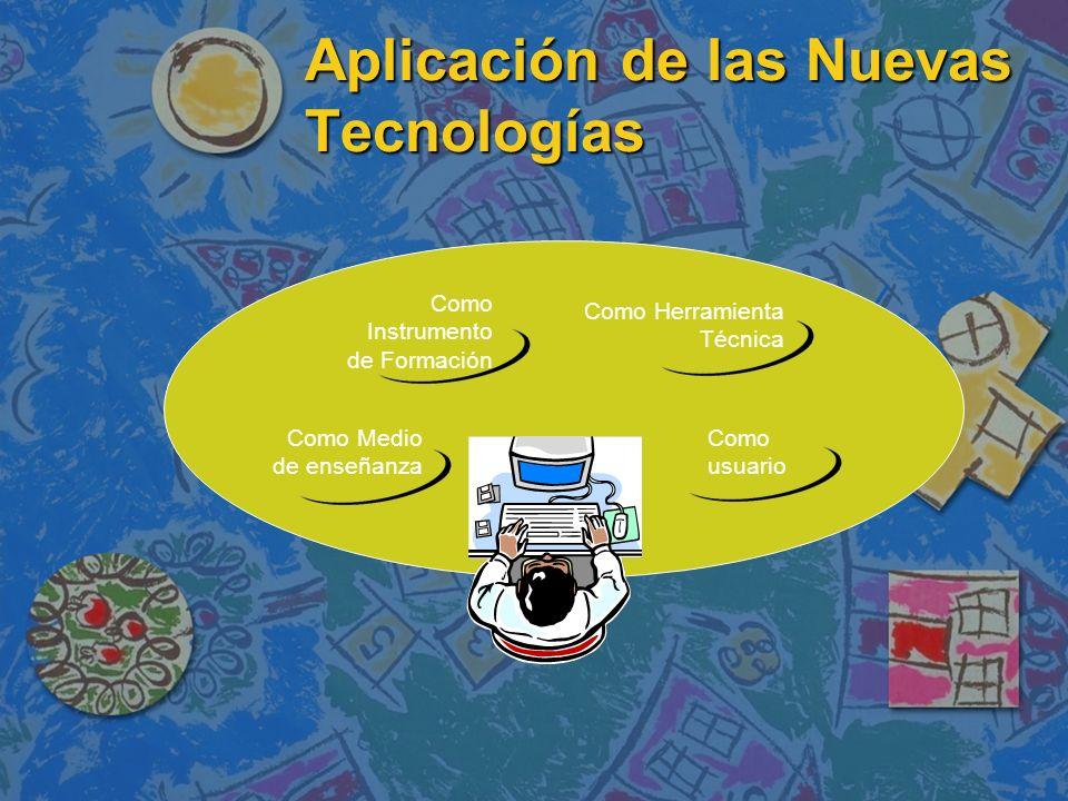 Aplicación de las Nuevas Tecnologías