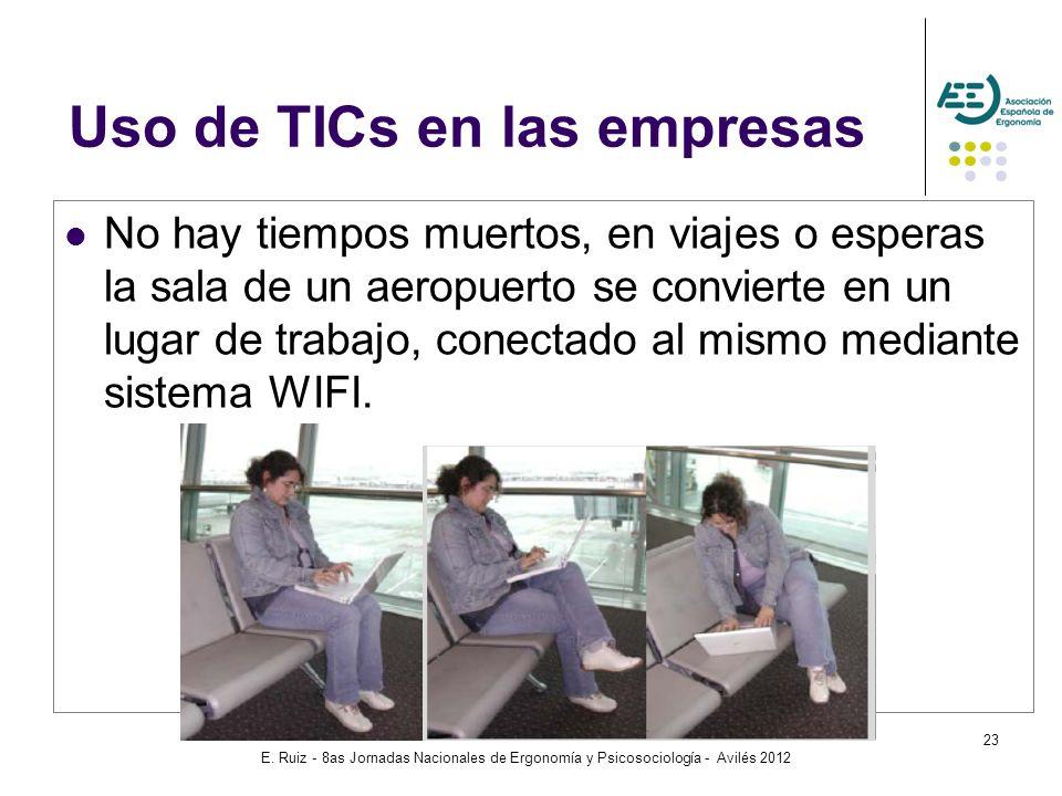 Uso de TICs en las empresas