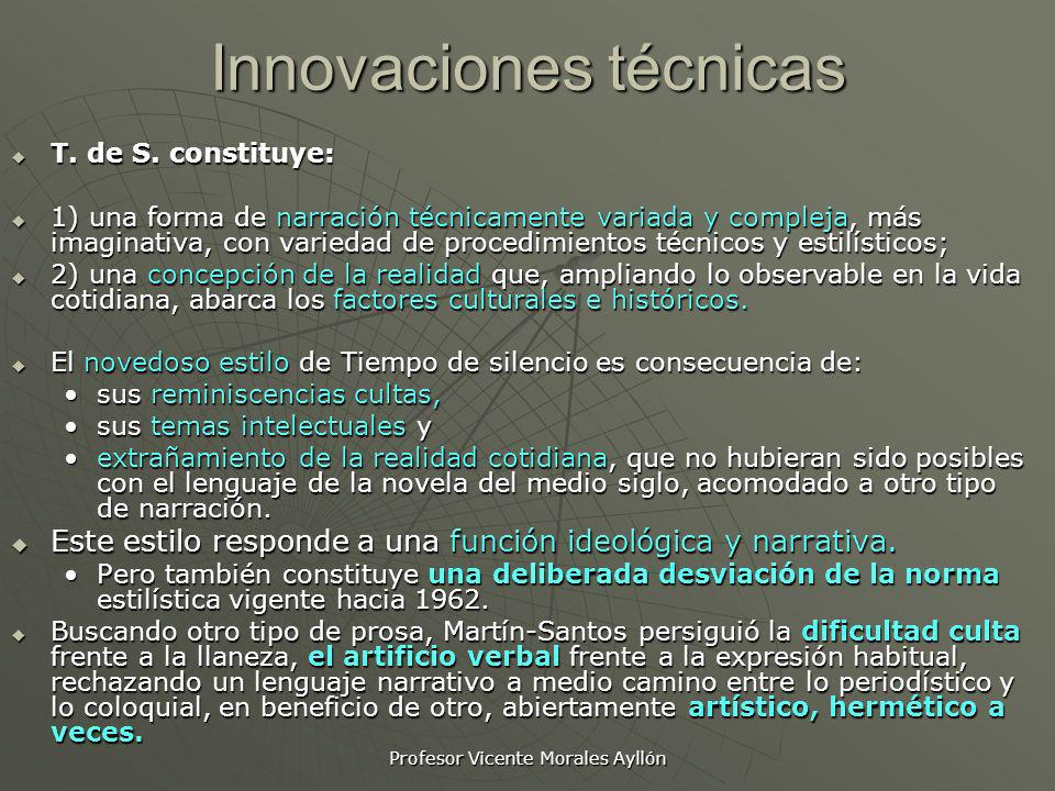 Innovaciones técnicas