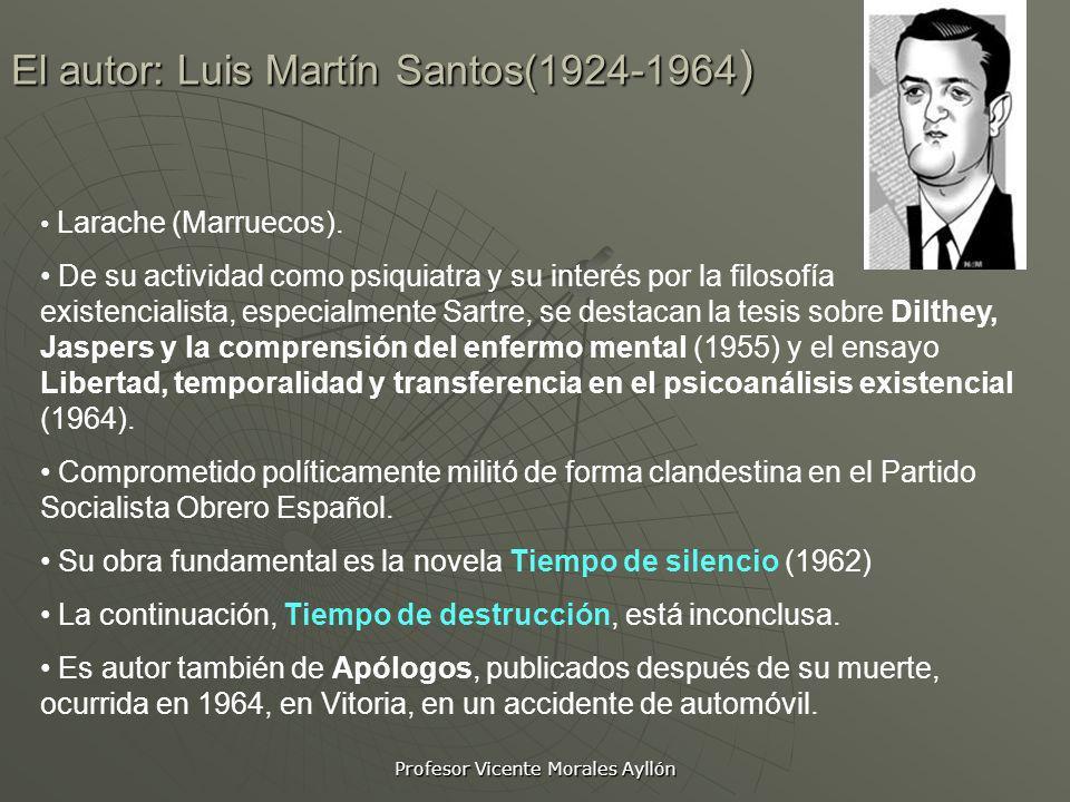 El autor: Luis Martín Santos(1924-1964)