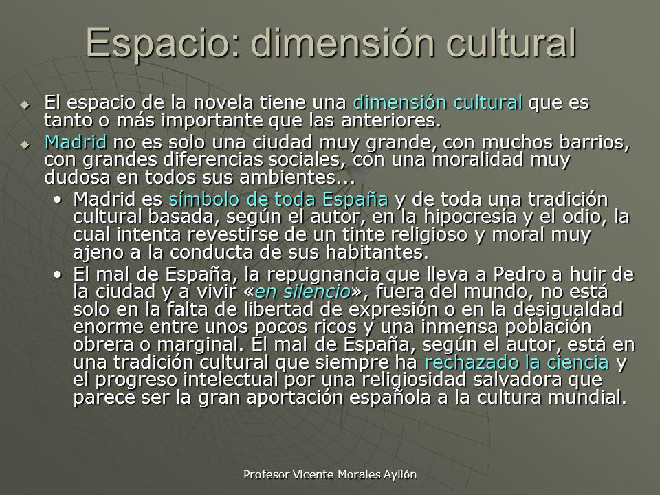 Espacio: dimensión cultural